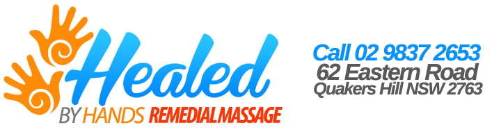 Healed By Hands:Remedial, Sports & Therapeutic Massage Quakers Hill, Sydney