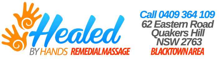 Remedial Massage Blacktown Area - Healed By Hands